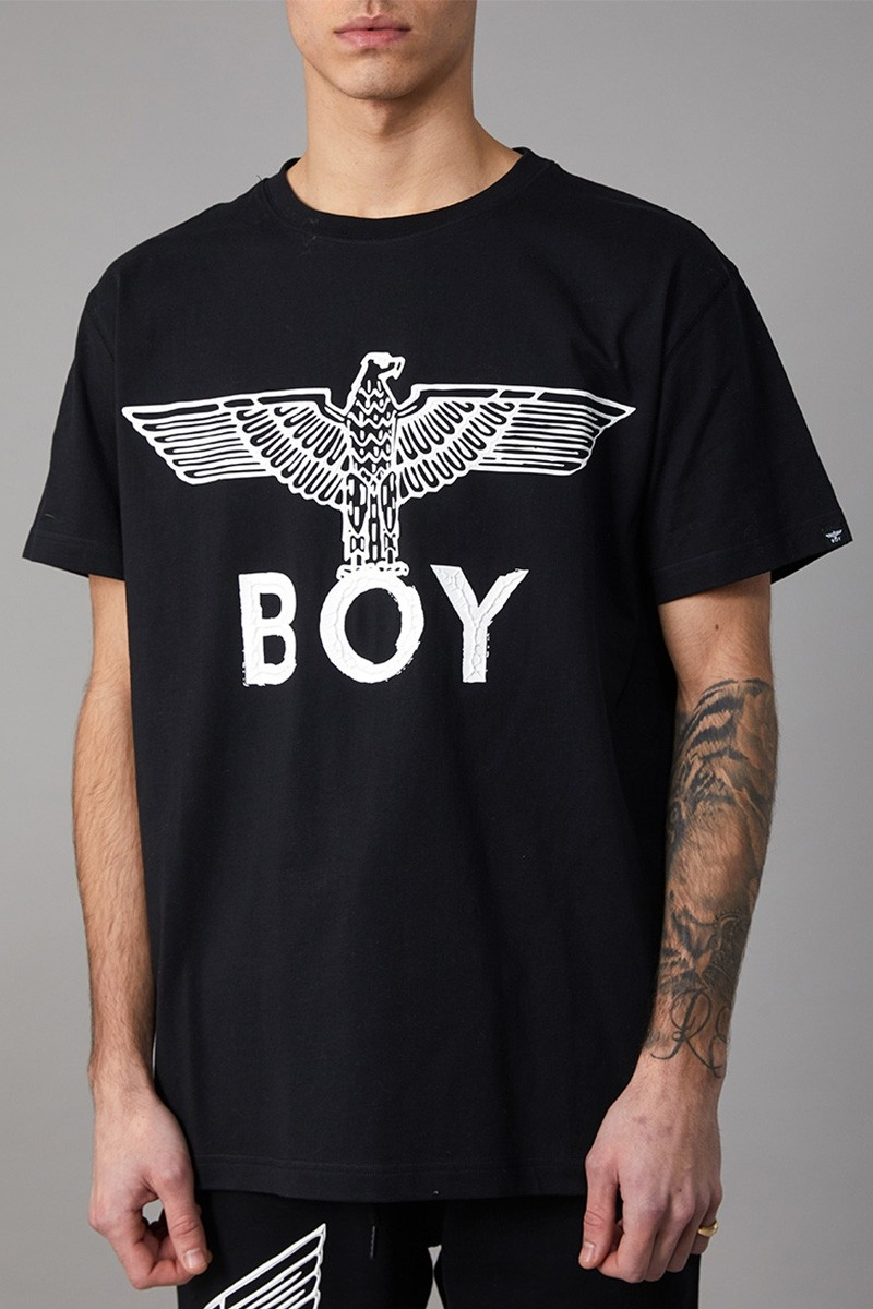 BOY 男孩EAGLE SCRIBBLE TEE - 黑色